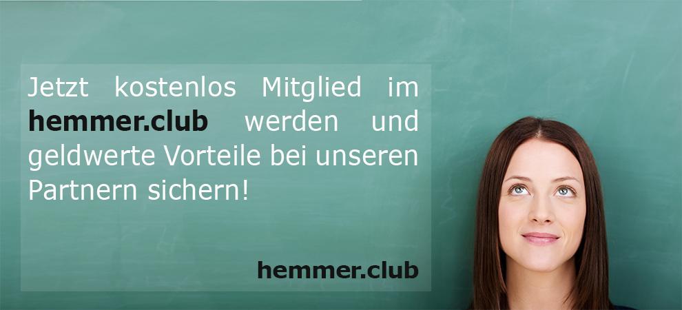 - hemmer-club - Jetzt Mitglied werden im hemmer.club werden und Vorteile geldwerte Vorteile bei unseren Parnern sichern!